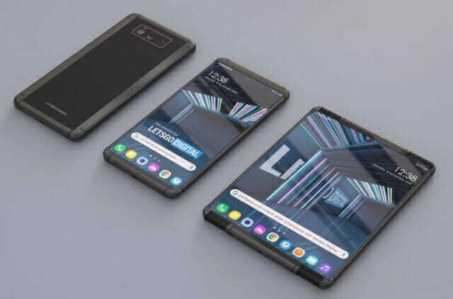 LG가 특허 출원한 롤러블폰 렌더링 이미지 (사진=렛츠고디지털)