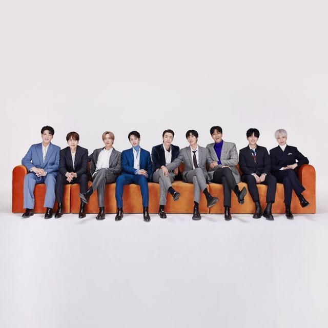 그룹 슈퍼주니어가 데뷔 15주년을 맞았다. SM엔터테인먼트 제공