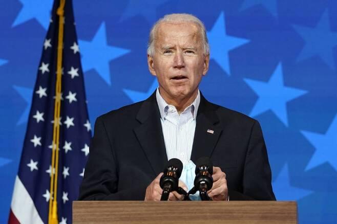 조 바이든 민주당 대선 후보/사진=[윌밍턴=AP/뉴시스]
