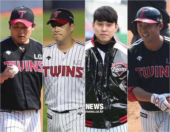 ▲ 문광은 여건욱 최재원 전민수(왼쪽부터). ⓒ SPOTV NEWS