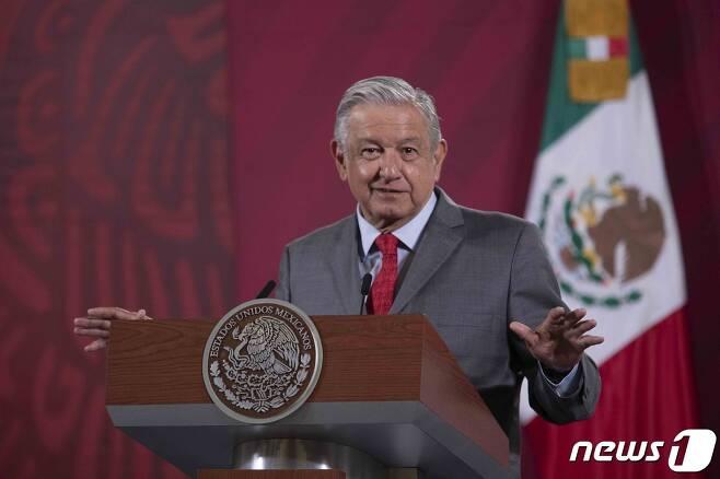 안드레스 마누엘 로페스 오브라도르 멕시코 대통령. © AFP=뉴스1