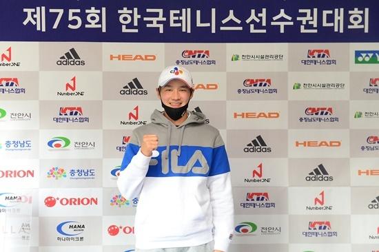 한국선수권에 출전하는 권순우