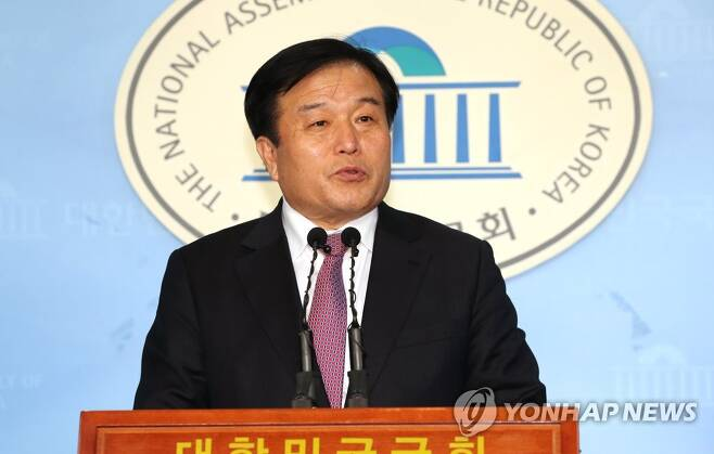 야권 부산시장 주자로 거론되는 이진복 [연합뉴스 자료사진]