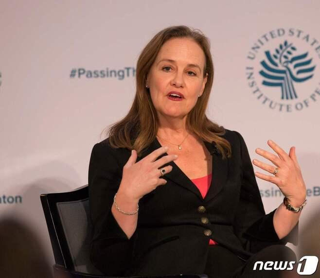 버락 오바마 행정부에서 국방차관을 지낸 미셸 플러노이. © AFP=뉴스1