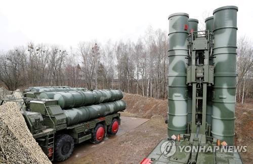 러시아제 S-400 방공미사일 발사대 [로이터=연합뉴스. 재판매 및 DB 금지]
