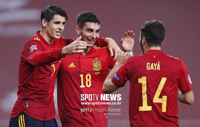 ▲ 스페인의 승리