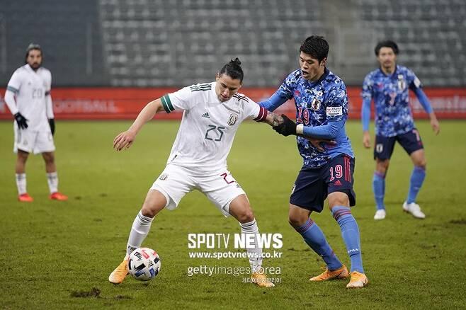 ▲ 일본과 멕시코의 경기