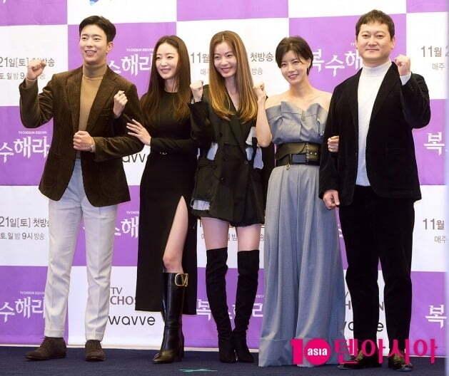 배우 윤현민, 김사랑, 윤소이, 유선, 정만식./사진=서예진 기자 yejin@