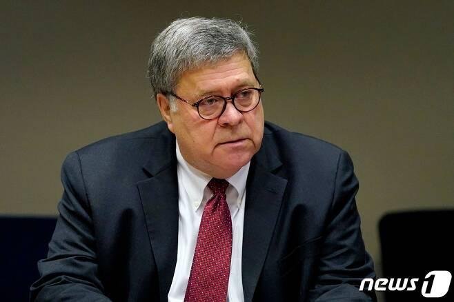 윌리엄 바 미국 법무장관 <자료사진> © AFP=뉴스1 © News1 우동명 기자