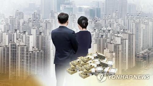 2030 서울아파트 사려면 15년 돈안쓰고 모아야 (CG) [연합뉴스TV 제공]