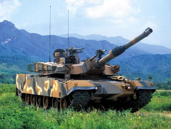 K1A1 전차. 현대로템 제공