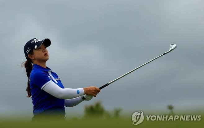 김세영의 3라운드 경기 모습 [게티이미지/AFP=연합뉴스]