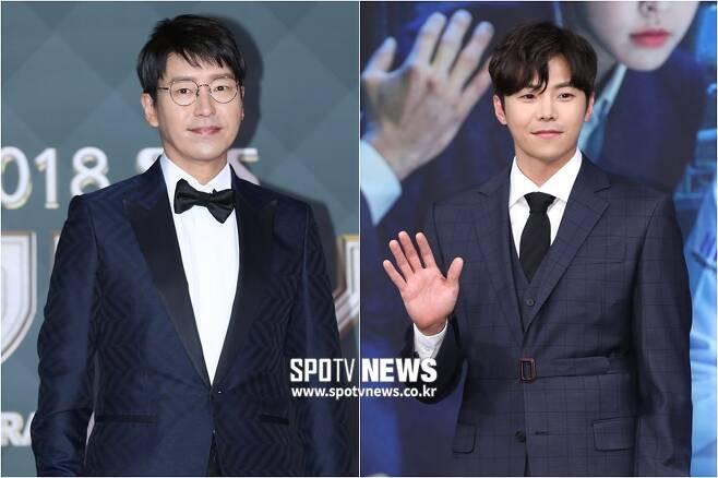▲ 엄기준(왼쪽), 박은석. ⓒ곽혜미 기자