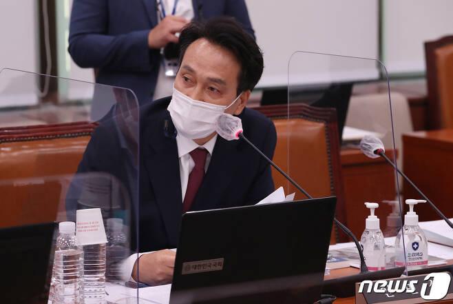 안민석 더불어민주당 의원  2020.10.7/뉴스1 © News1 박세연 기자