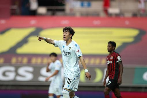 인천 이재성. 사진제공 한국프로축구연맹