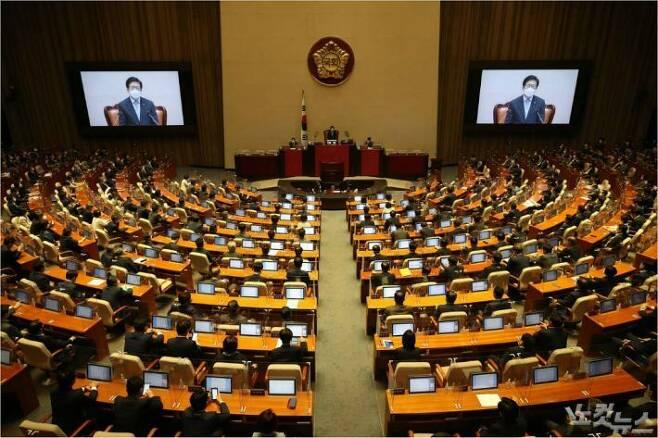 국회 본회의장 (사진=윤창원 기자/자료사진)