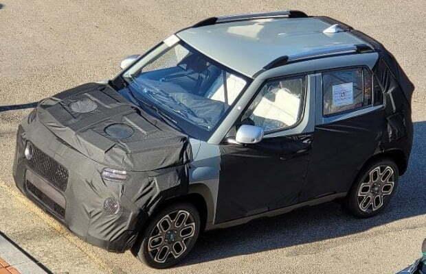 광주글로벌모터스가 생산할 예정인 경형 SUV QX. 사진=보배드림
