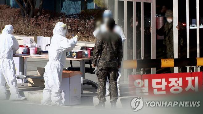 이 와중에…육군 간부들 '회식금지령' 어기고 만취 음주사고 (CG) [연합뉴스TV 제공]