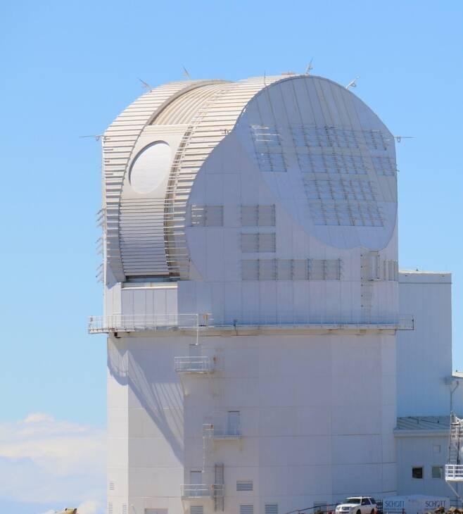 하와이 마우이섬 할레아칼라산 정상의 이노우에 태양 망원경 [NSF/NSO/AURA 제공/ 재판매 및 DB 금지]