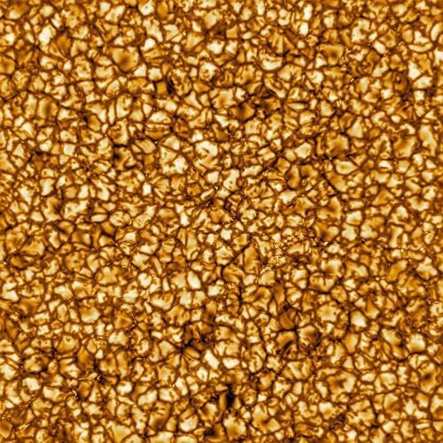 이노우에 태양 망원경이 첫 이미지로 내놓은 태양 표면 [NSO/AURA/NSF 제공]