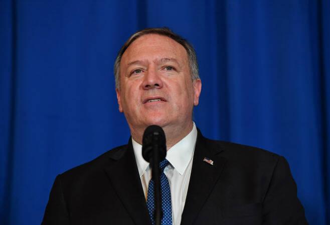 마이크 폼페이오 미국 국무부 장관. (사진=AFP)