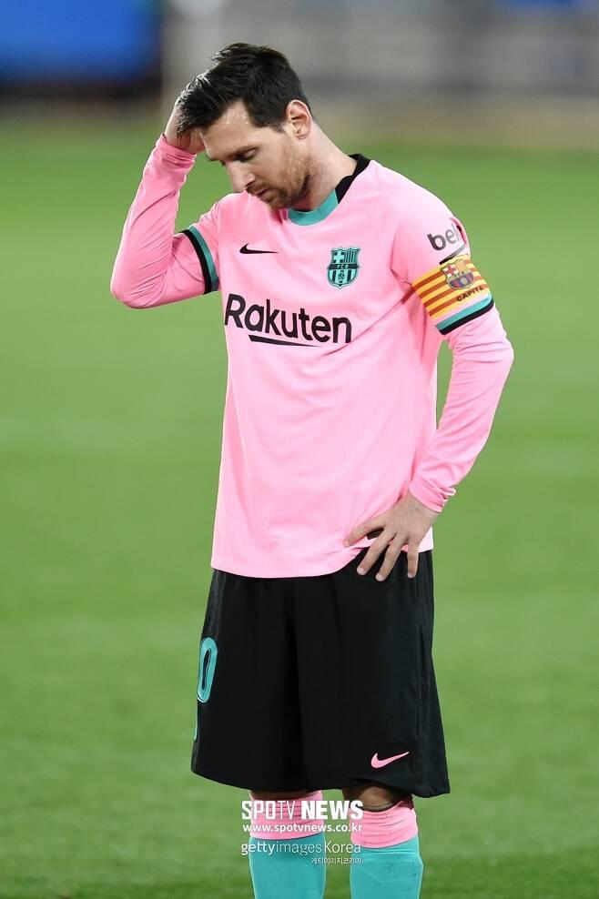 ▲ 리오넬 메시는 내년에 정말 바르셀로나를 '0원'에 떠날까