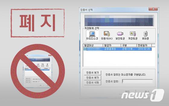 21년간 국내에서 독점적 온라인 신분증 역할을 수행해온 공인인증서가 10일로 이러한 지위가 사라진다. © News1 이은현 디자이너
