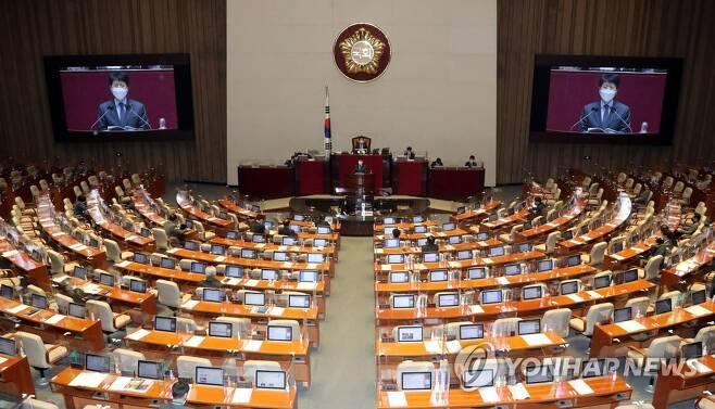 국회 본회의장 [연합뉴스 자료사진]