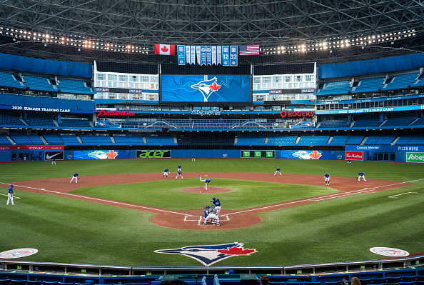 토론토 블루제이스의 홈구장 로저스 센터 | 게티이미지 코리아