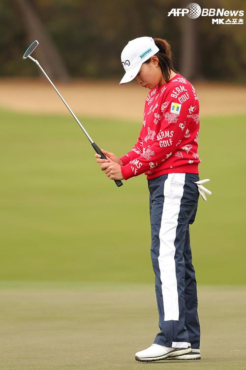 시부노 히나코는 15일(한국시간) 2020 US여자오픈 최종 라운드에서 4위로 미끄러졌다. 김아림이 우승을 차지했다. 사진=ⓒAFPBBNews = News1