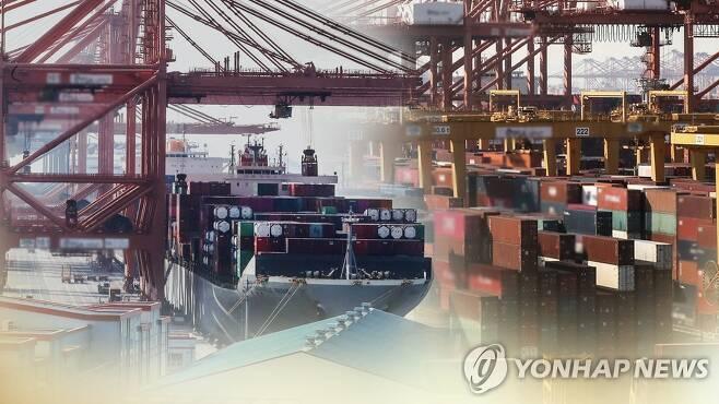 수출 (CG) [연합뉴스TV 제공]