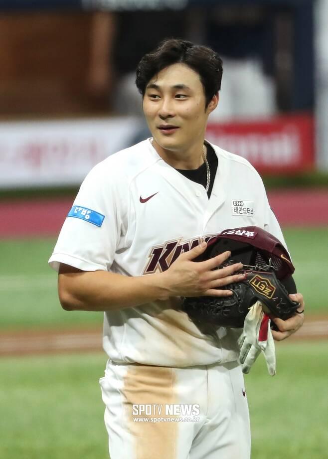▲ 메이저리그의 부름을 기다리고 있는 키움 유격수 김하성. ⓒ곽혜미 기자