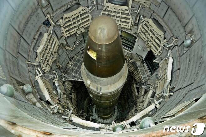 미국 핵 대륙간탄도미사일(ICBM) '타이탄 Ⅱ' © AFP=뉴스1