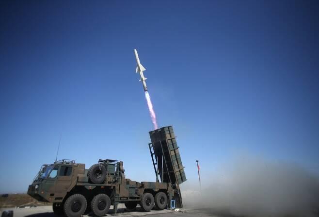 일본 육상자위대 12식 지대함 유도탄. 위키미디어 커먼스
