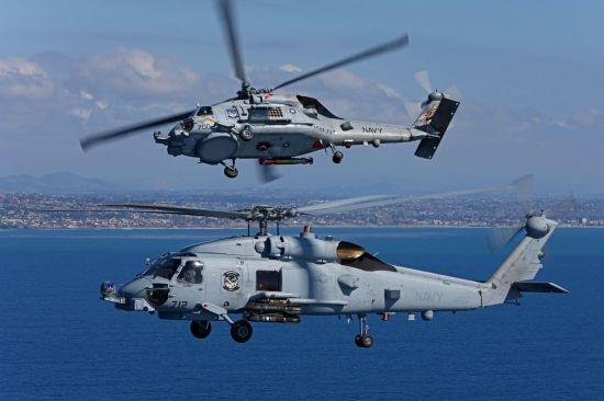 록히드마틴의 MH-60R 시호크(Sea hawk)