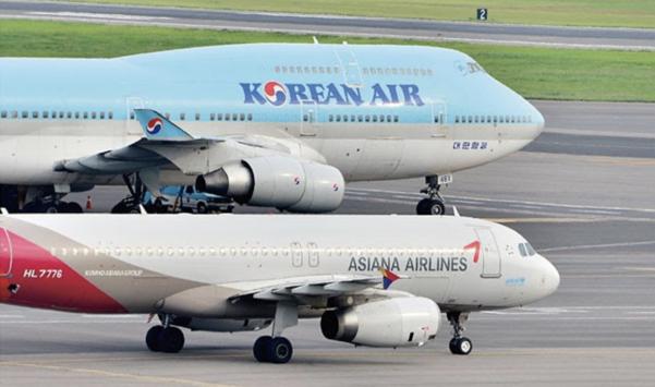 대한항공과 아시아나항공. /조선DB