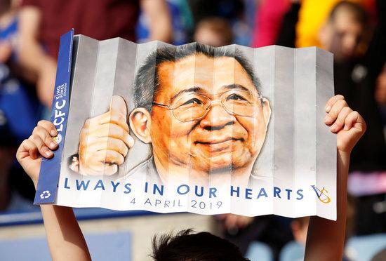 태국 출신의 비차이 스리바다나프라바 전 레스터 구단주는 구단의 중흥을 이끌며 많은 팬들에게 여전히 기억되고 있다. /사진=로이터