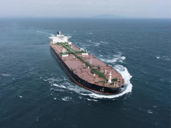 대우조선해양의 LNG 이중연료 추진 VLCC [대우조선해양 제공. 재판매 및 DB 금지]