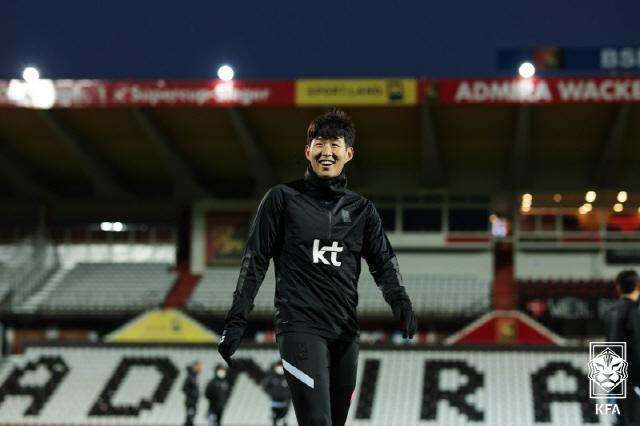 손흥민   사진제공=대한축구협회