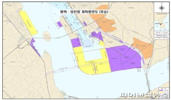 평택-당진항 포승지역 개발계획. 사진제공=경기북부청