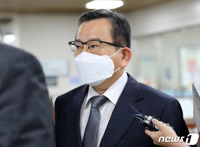 김학의 전 법무부 차관./ © 뉴스1
