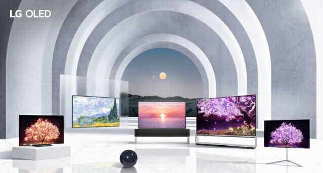 2021 LG전자 올레드 TV 제품군 (사진=LG전자)