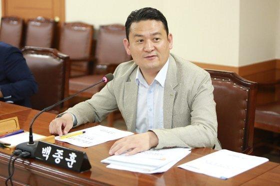 백종훈 의원. 사진=수성구의회