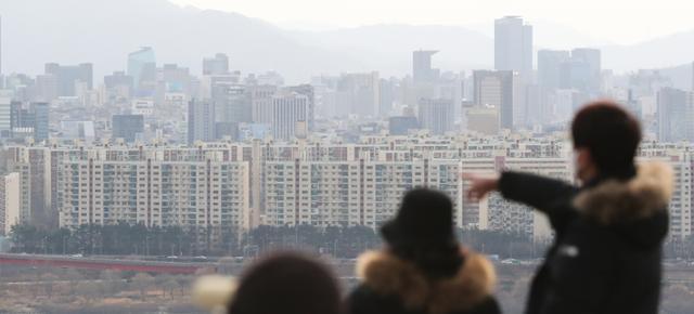 3일 서울 아파트 단지 모습. 뉴스1