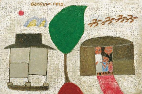 장욱진, 가족, 1973. [사진 현대화랑]
