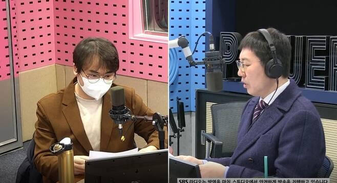 정상근 김영철(사진 왼쪽부터)