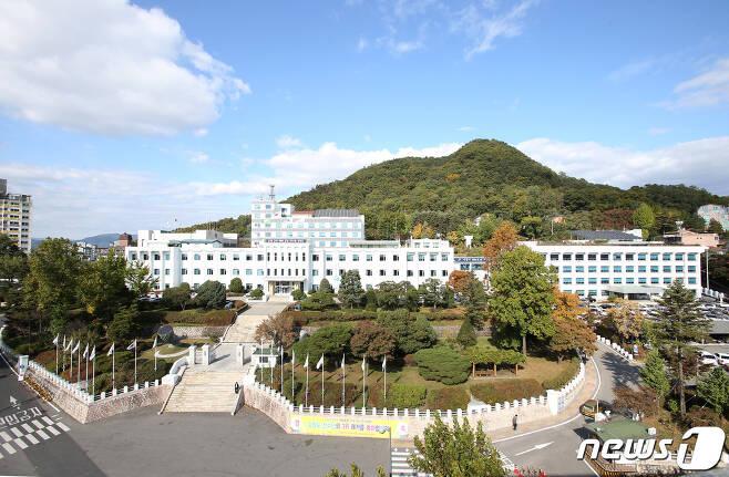 강원도청 전경.© 뉴스1