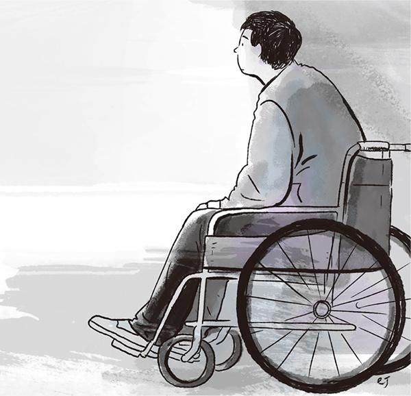 장애인 그래픽. 국민일보 DB