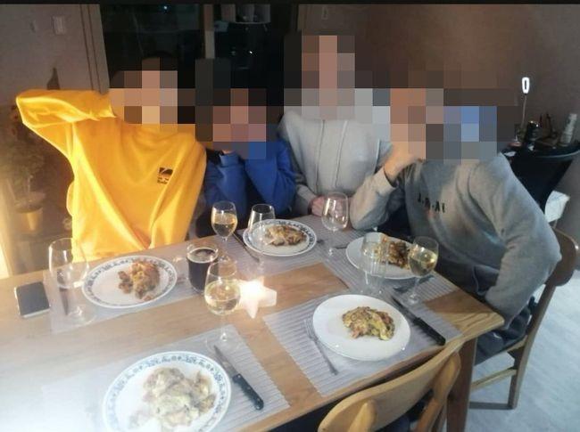 [사진] 여자부 한 외국인 선수 SNS에 올라온 사진