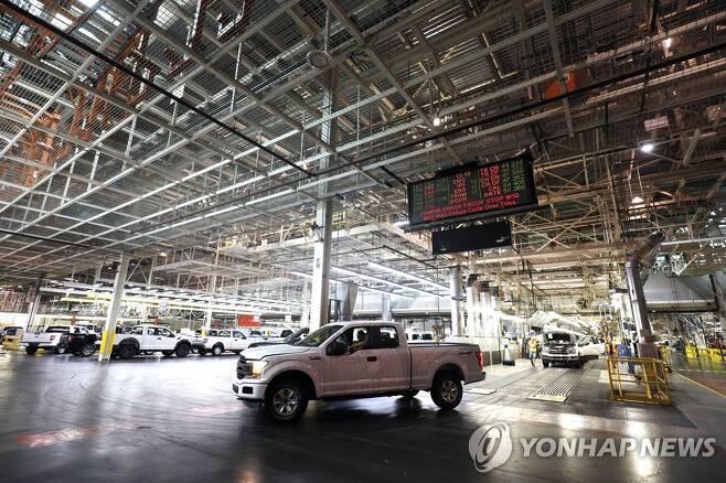 포드 자동차의 미시건주 공장 [AFP=연합뉴스 자료사진]